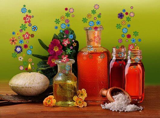 Aroma massaggio e oli essenziali