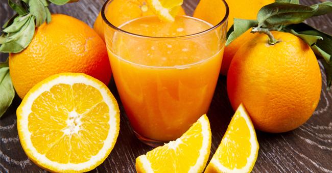 Succo d'arancia contro la pressione alta