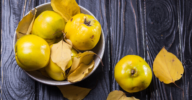Aiuta la digestione con la mela cotogna