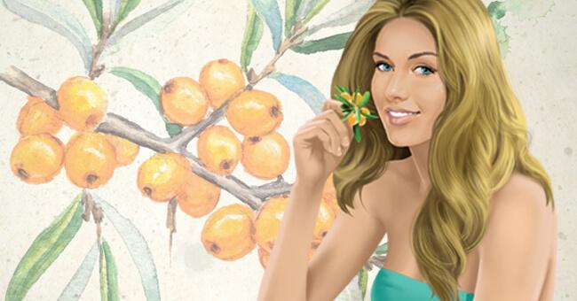 Collagene della pelle, rigeneralo con l'olivello spinoso