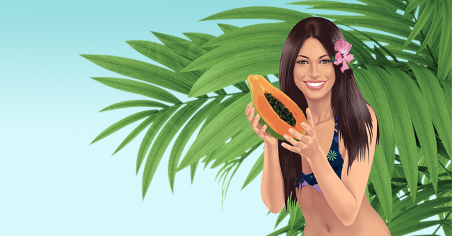 Invecchiamento: frenalo con la papaya verde