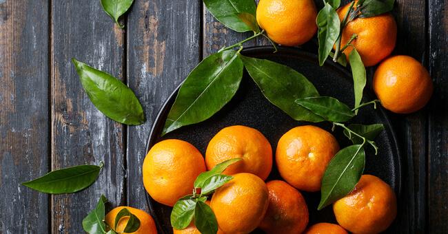 Clementine, dolci anche per la linea