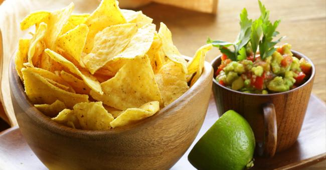 Chips di mais: facili da fare e senza grassi, sono anche diuretiche