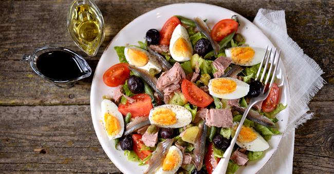Nizzarda, l'insalata antiossidante ricca di proteine nobili