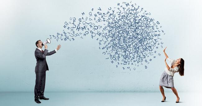 Vuoi comunicare bene? Parla forte e chiaro