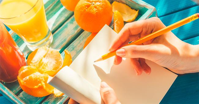 Magra e in forma con il diario alimentare