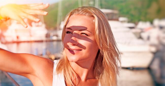 Salva i tuoi occhi dalla luce solare più aggressiva