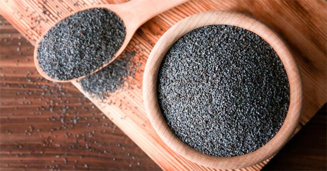 Riequilibra pressione e circolazione coi semi di papavero