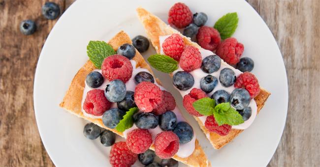 La crostata senza cottura, zucchero e glutine