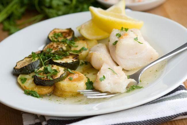 Baccalà con zucchine: una ricetta per ossa sane e forti
