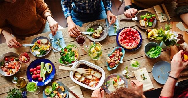 Comincia a tavola a volerti bene!