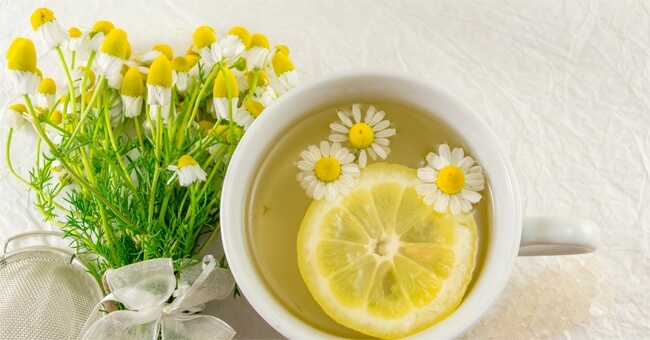 camomilla al limone per dimagrire