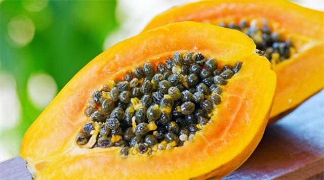 Con la papaya alt ai radicali liberi