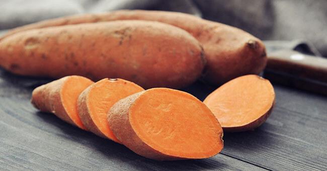 Con la patata dolce fai il pieno di antiossidanti - Riza.it 281c6b21c225