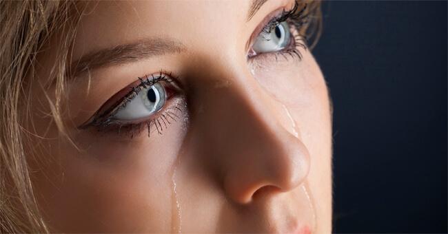 Con le lacrime va via anche lo stress