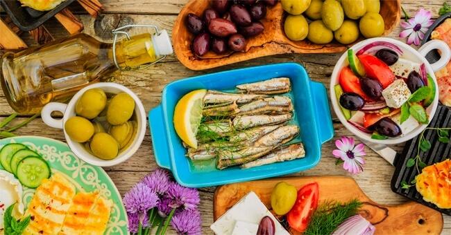 Dieta mediterranea, l'alleata del cervello