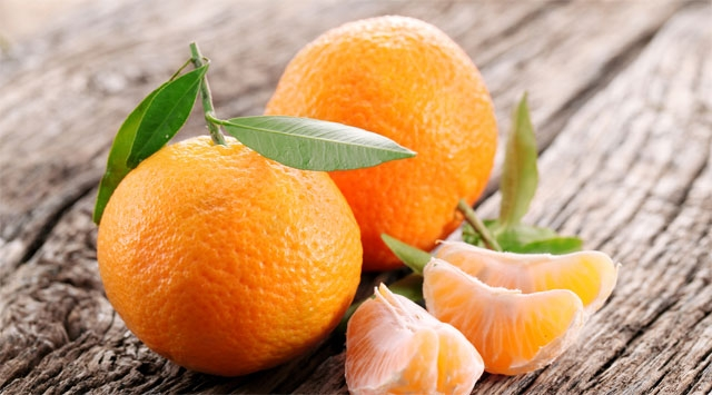 Fai scorta di mandarini, tutto il corpo ringrazierà