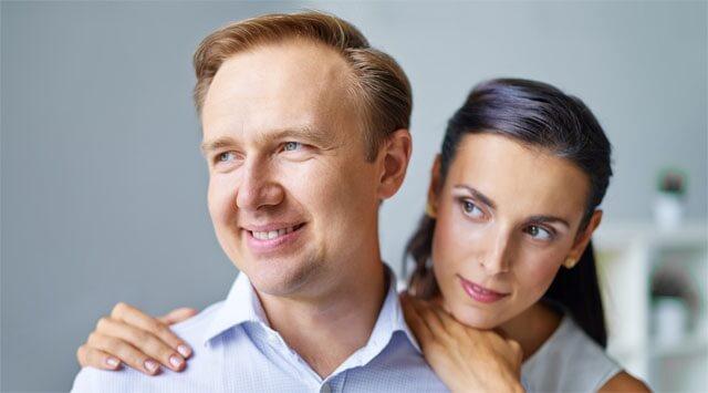prostata uomo felice