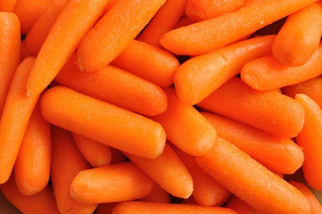 Il carotene, elisir di lunga vita