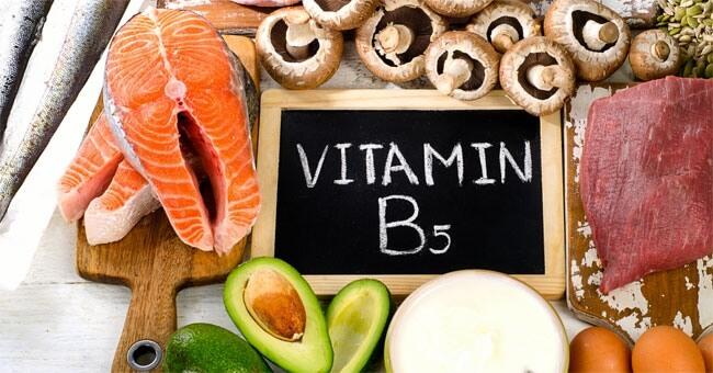 Il metabolismo riparte con la vitamina B5