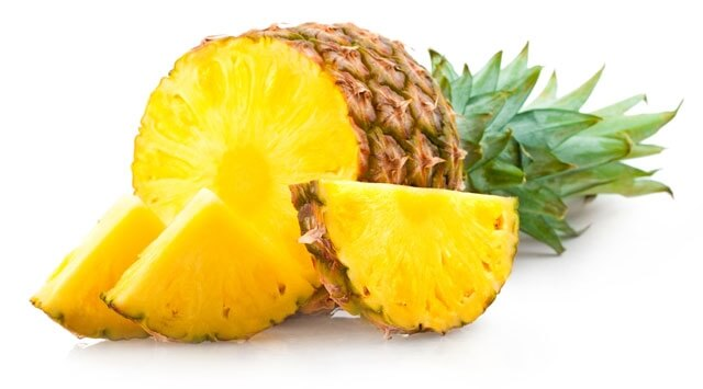 L'ananas mette in salvo le difese