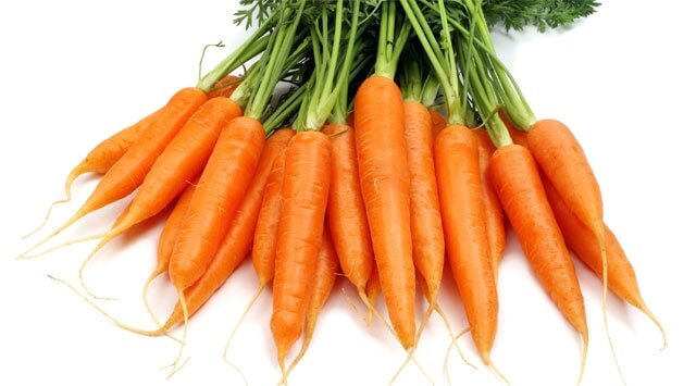 La carota, elisir di salute