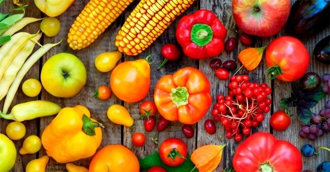 La dieta colorata che fa bene al cervello