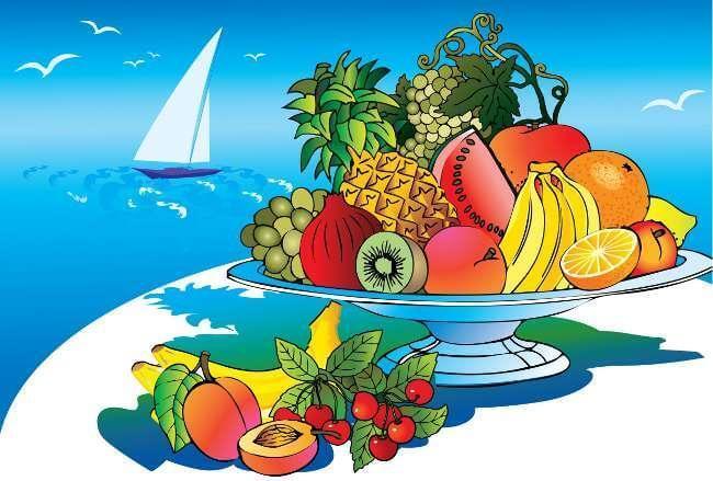 La dieta estiva è tonificante e naturalmente snellente