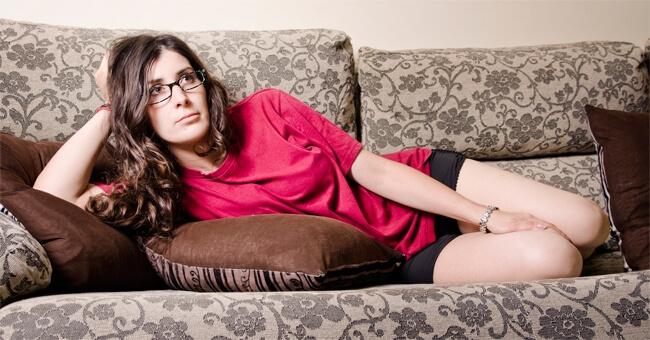 La sedentarietà fa aumentare l'ansia