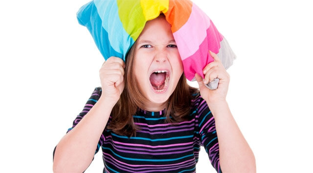 Le crisi di rabbia nei bambini