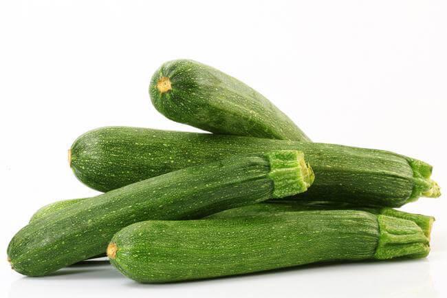 La zucchina aiuta occhi e pelle