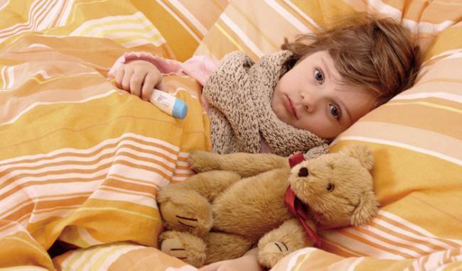 Previeni l'influenza dei bambini con le cure naturali