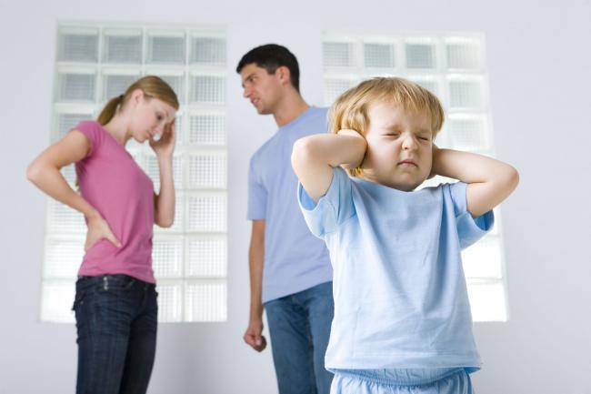 Quando i bambini ci vedono litigare