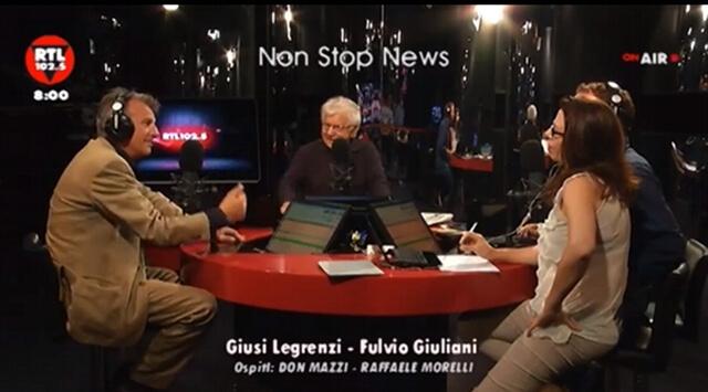 Raffaele Morelli e Don Mazzi su RTL 102.5