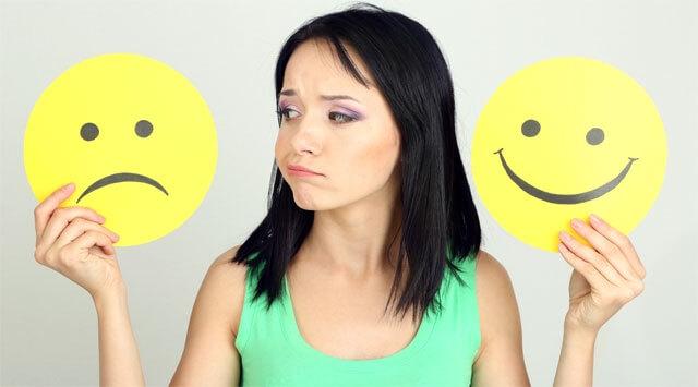 Sbalzi d'umore: come trovare l'equilibrio