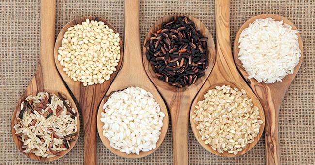 Scopri tutte le proprietà e le varietà di riso