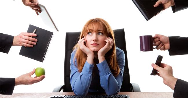 Stress sul lavoro? Le cose da non fare
