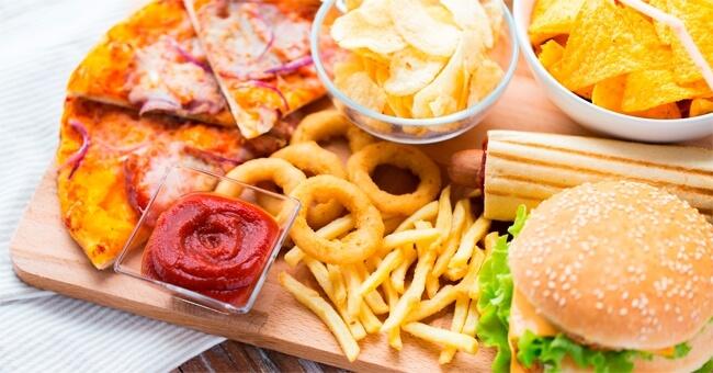 Un solo pasto sbagliato, può affaticare il fegato