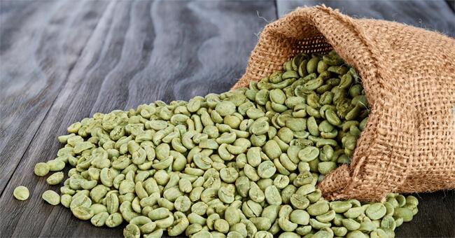 nervosismo di caffè verde