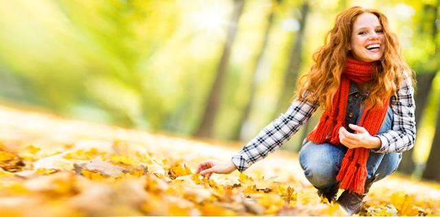Depressione d'autunno addio con quattro Fiori di Bach