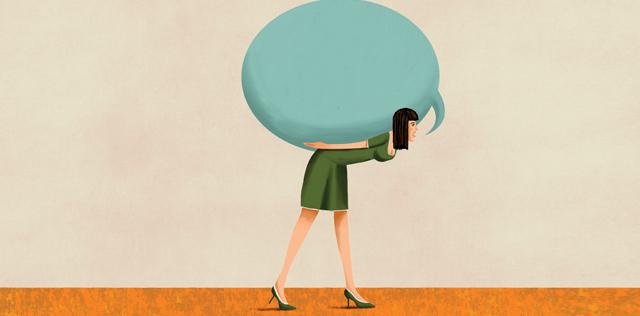Togliti dalle spalle il peso delle parole inutili