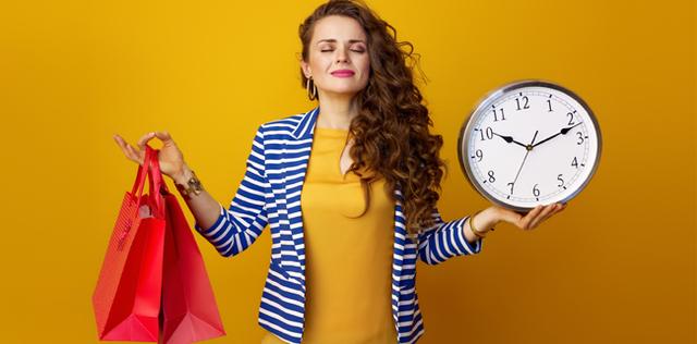 Sai prenderti il tuo tempo?
