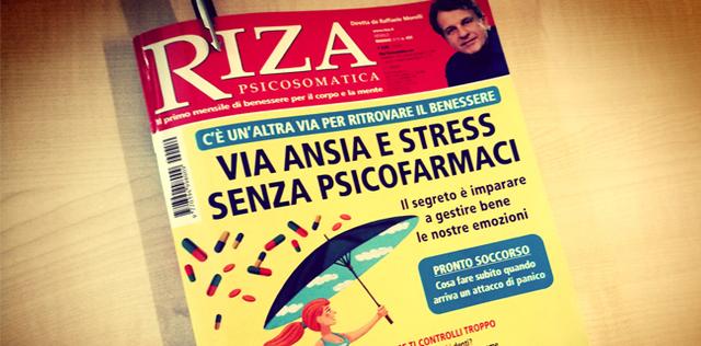 5 motivi per acquistare l'ultimo numero di Riza Psicosomatica