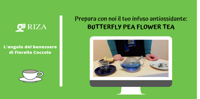 VIDEO: Butterfly Pea Flower Tea: preparalo con noi