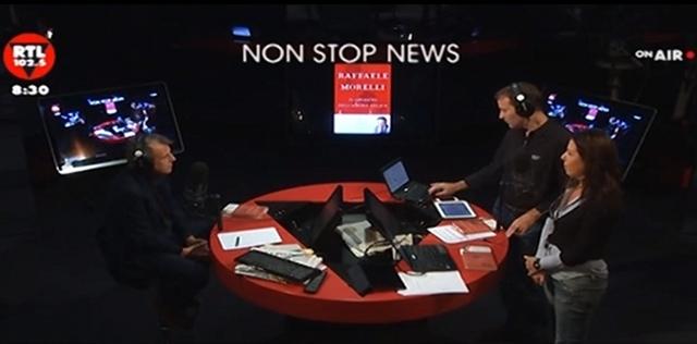 Raffaele Morelli parla d'amore su RTL 102.5